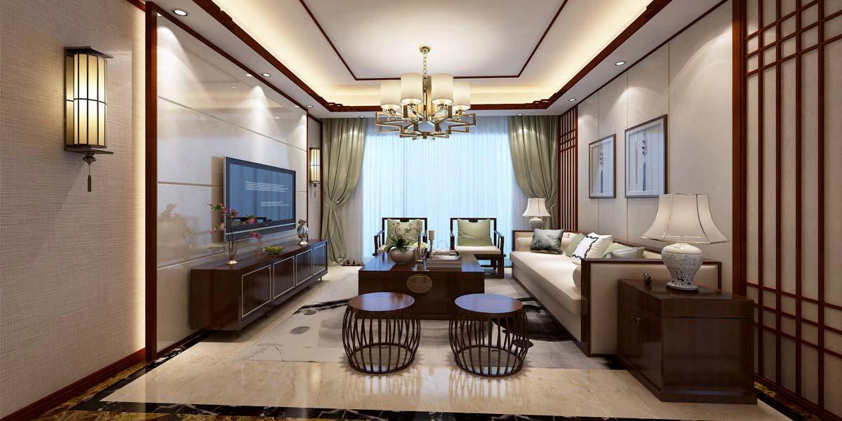 126㎡新中式风格家装
