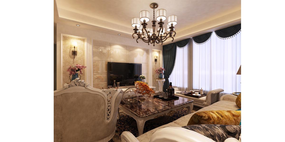 86平方欧式风格家装