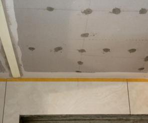 你家我家装饰石膏板基层处理